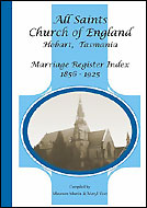 All Saints Marriages 1856-1925